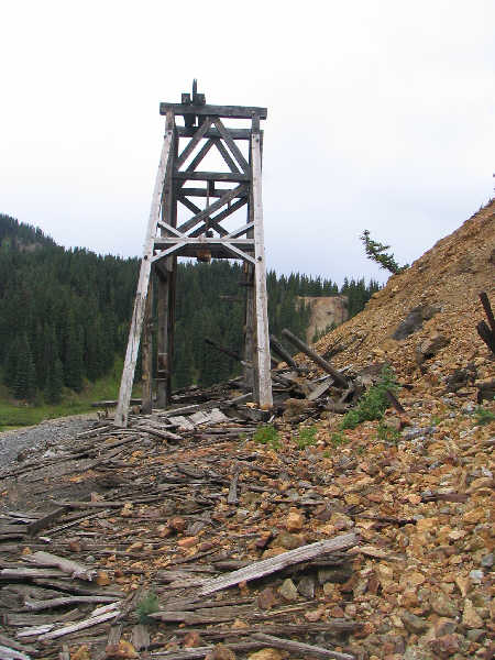 Natioanl Belle Mine ruins.