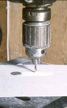 photo of milling Hydrocal.