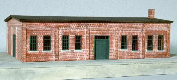 The NP Freight House. Pilot model.