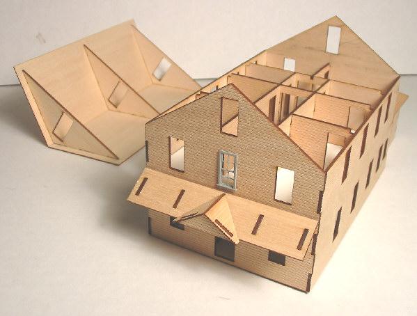 Ho Scale Laser Cut Building Kits