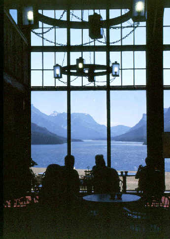 High tea is served at the Prince of Wales, Waterton Lake Peace Park.