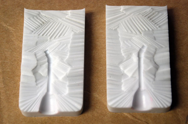 wax mold halves 600 x 397
