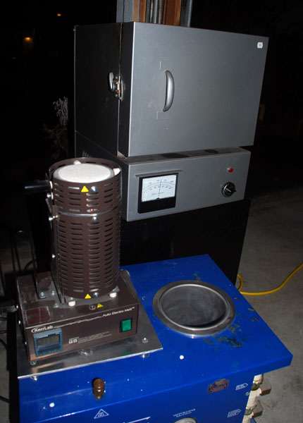 burnout oven, vacuum casting chamber and electro-melt 430 x 600
