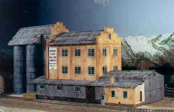 The Minden Flour Mill. Photo of the real building.