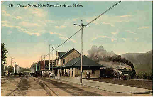 Lewiston, Idaho depot.