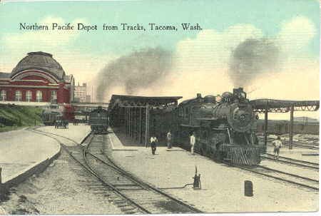 NP's Tacoma, Washington Depot.